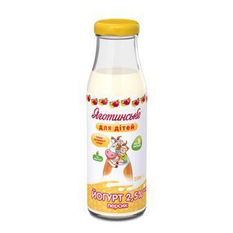 Йогурт 2,5% Яготинське для дітей 200 г