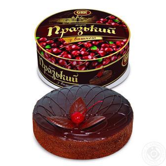 Торт Празький з вишнею БКК 1кг