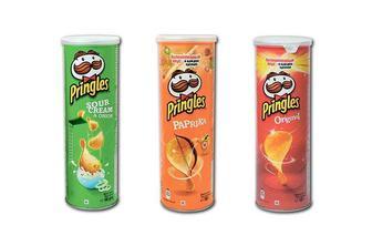 Чіпси картопляні Original/ зі смаком сметани та цибулі/паприки Pringles 165 г