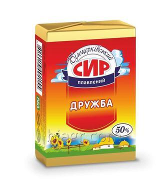 Сыр плавленный «Дружба», Белоцерковский, 90г