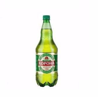 Пиво світле  Галицька Корона  1.3 л
