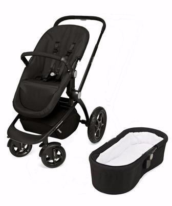 Коляска Movix Base чорного кольору від Mothercare