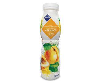 Йогурт питний 2,2% жиру «Абрикос» «Премія»® 300 г
