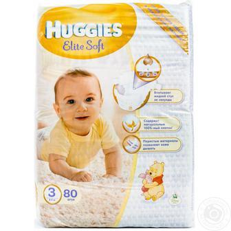 Асортимент Підгузків Huggies Elite Soft