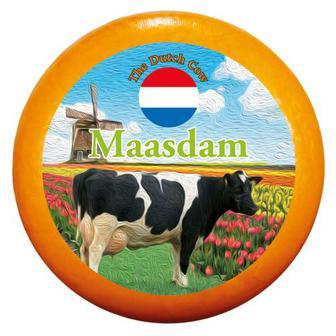Скидка 33% ▷ Сир Маасдам 48% Dutch Cow Нідерланди ваг