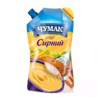 Соус  сирний, базиліката  Чумак 200 г