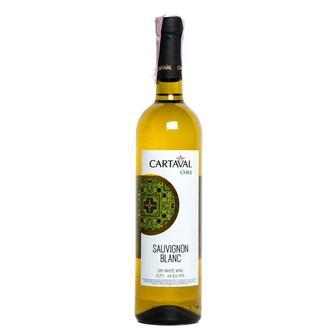 Вино Chardonnay, Sauvignon Blanc    Cartaval , сухое, белое, 0,75 л