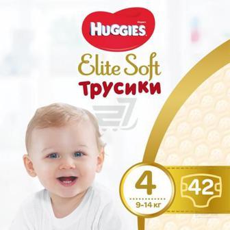 Підгузки-трусики Huggies Elite Soft Mega 4 9-14 кг 42 шт.