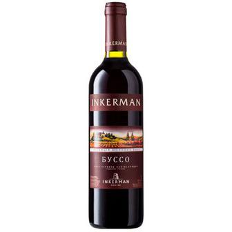 Вино Inkerman Буссо червоне наівсолодке 0,7л