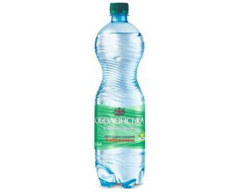 Вода мінеральна «Оболонська» слабогазована, 1,5 л