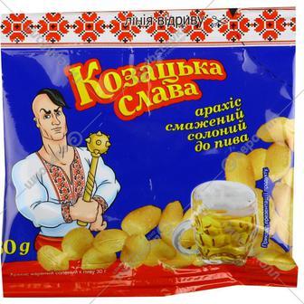Орешки соленые Козацька слава 30 г