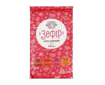 Зефір «Богуславна» біло-рожевий, 240г