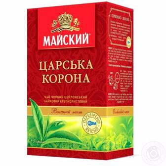 Чай чорний Царська корона Майський 85г