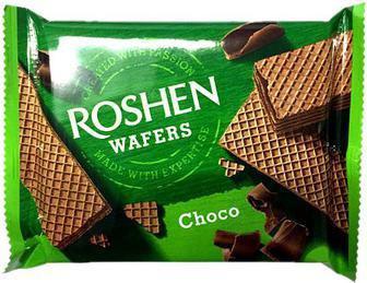 Вафлі Wafers  Roshen 72 г