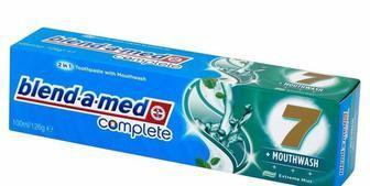 Зубная паста Blend-A-Med Комплекс 7 с ополаскивателем 125мл
