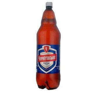 Скидка 24% ▷ Пиво Чернігівське Світле 2,35л