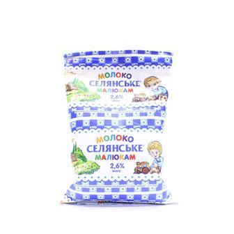 Молоко ультрап. Детское Селянское 2,5%, 900 гр