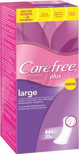 Прокладки щоденні Carefree De Luxe flexiform normal 30 шт.
