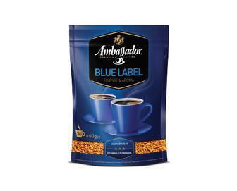 Кава Амбассадор Blue Label розчинна 60г