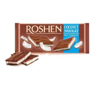 Шоколад молочний Roshen 95 г
