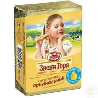 Сир плавлений оригінальний, з укропом Звенигора 90 г