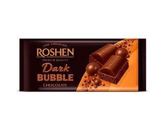 Шоколад Roshen пористий екстра чорний, 85г
