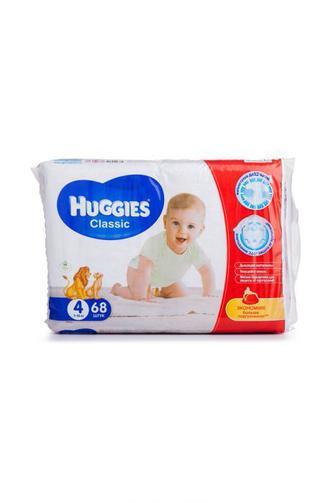 Подгузники Huggies Classic р4 7-18 кг 68 шт