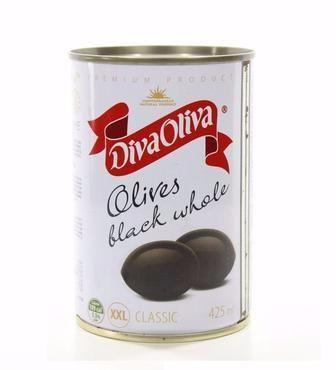 Маслини без кісточки Diva Oliva 300 г