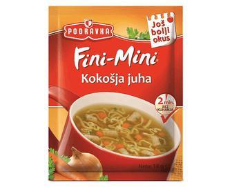 Суп Podravka, курячий швидкого приготування, 18г